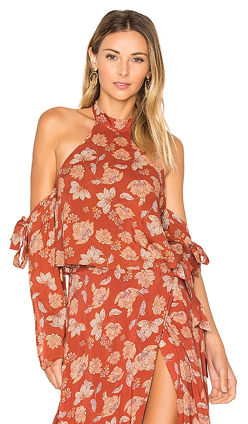 ale by alessandra x REVOLVE Branca Top in Burnt Orange