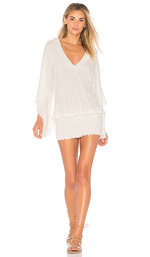 ale by alessandra Smocked Tunic in White