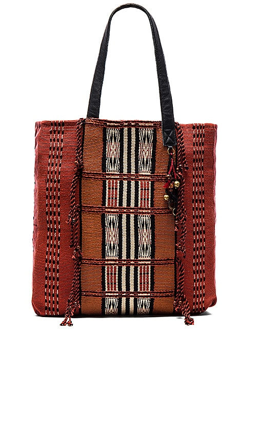 ale by alessandra Moab Tote Bag in Rust