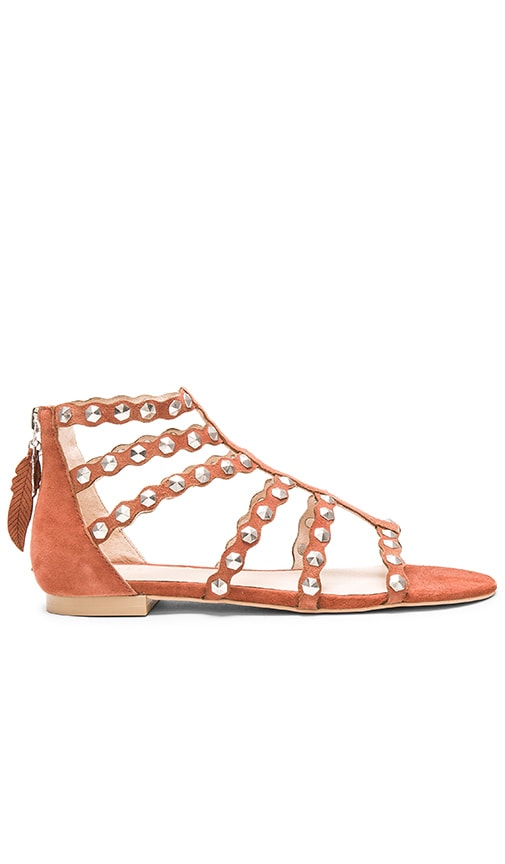 Scalloped Edging Sandals