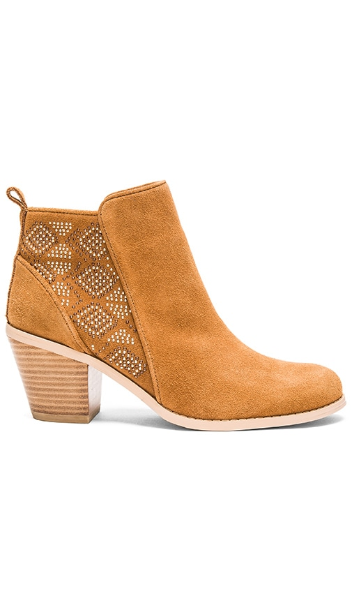 ale by alessandra Astec Bootie in Cognac