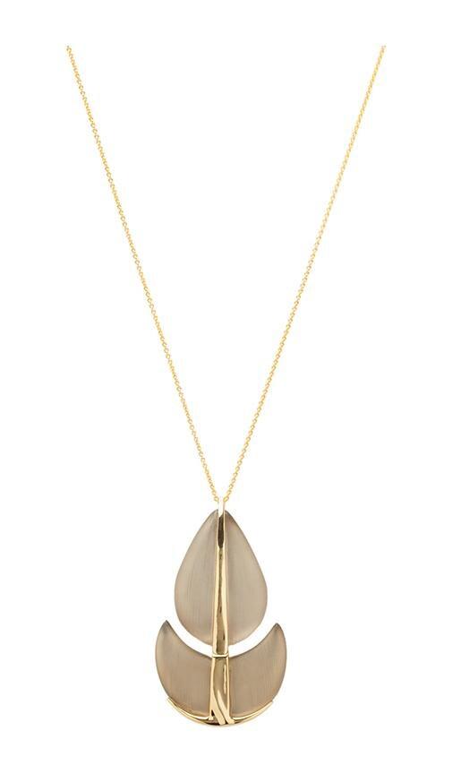 Paisley Lucite Necklace