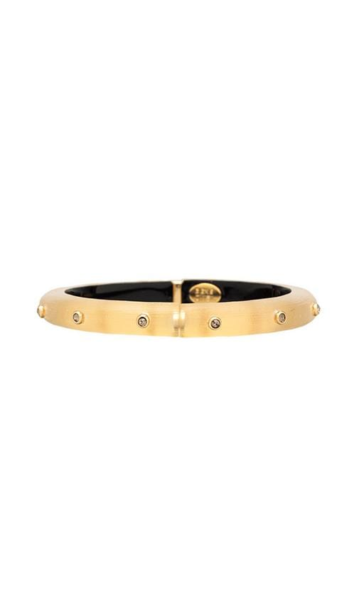 Bohemian Crystal Rivet Hinge Bracelet