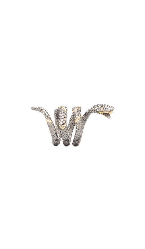 Diamond Back Snake Ring