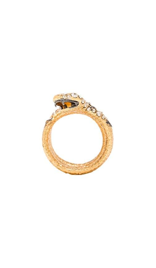 Diamond Back Snake Ring