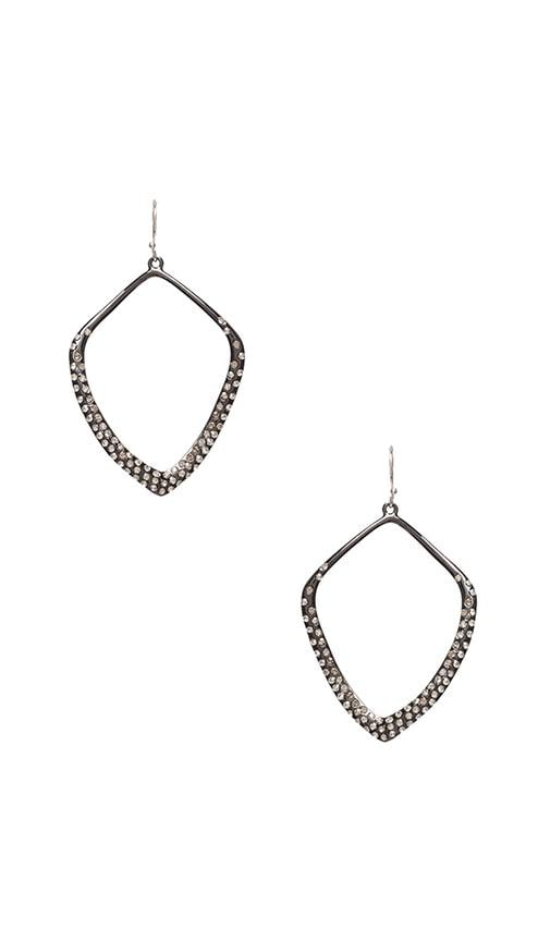 Pave Kite Orbit Earring