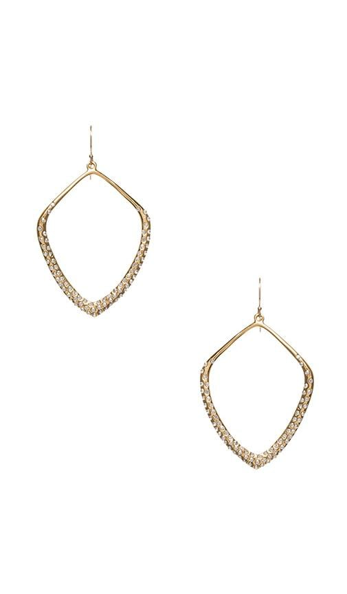 Pave Kite Chandelier Earring