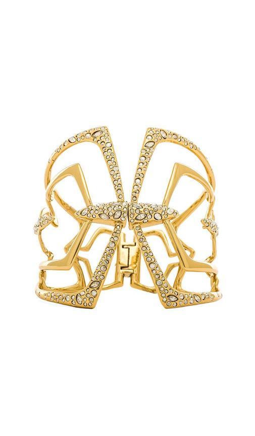 Encrusted Mirror Hinge Bracelet