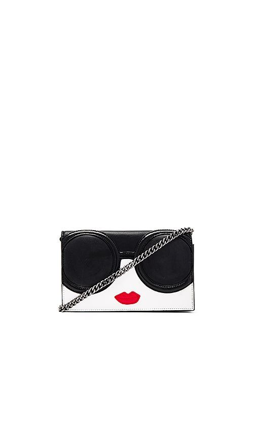 Alice + Olivia Stacey Face Long Wallet