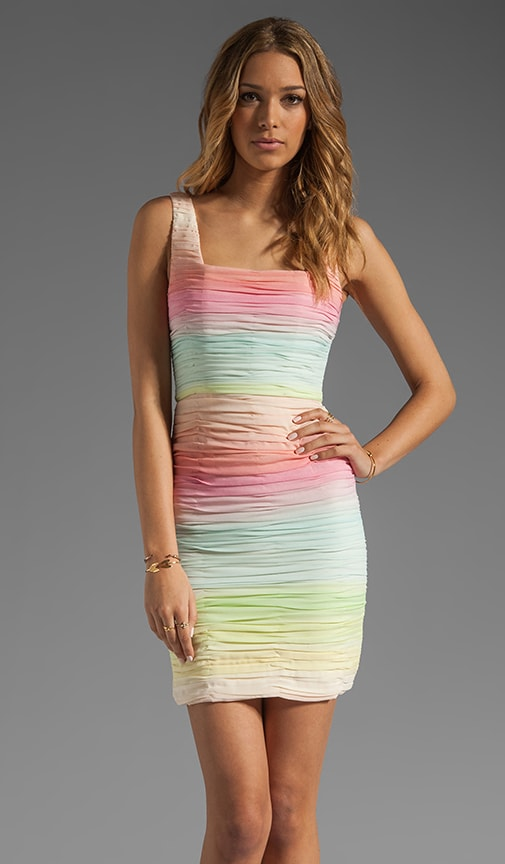 Molly Fitted Ruched Tank Dress