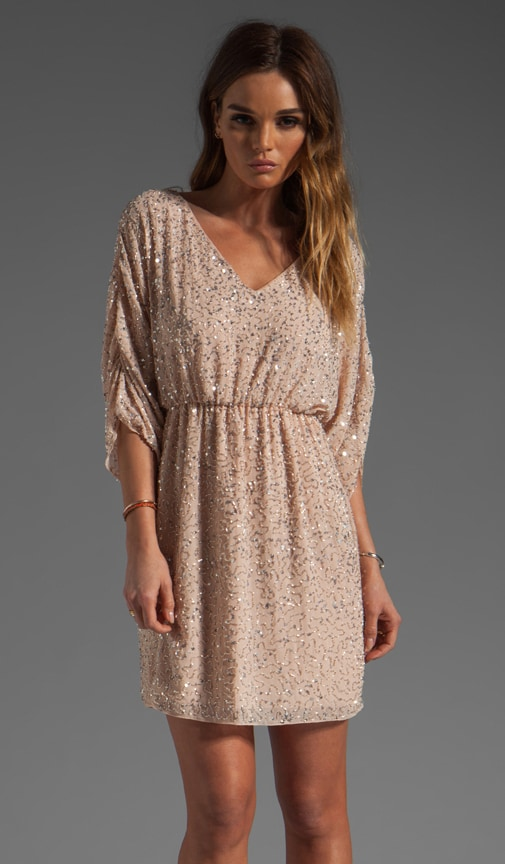 Olympia Embellished Tunic Dress