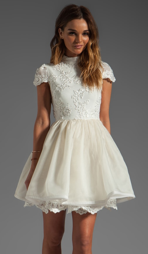 Fyona Lace Bodice Party Dress