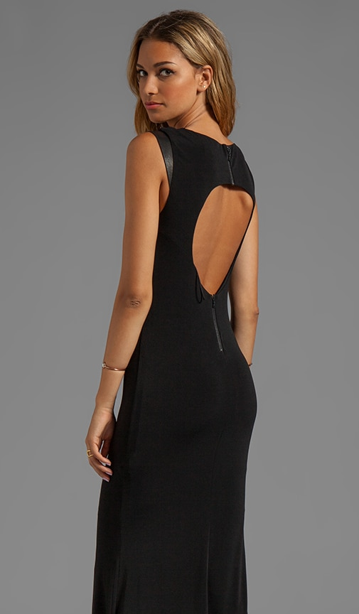 Cap Sleeve Cutout Back Maxi