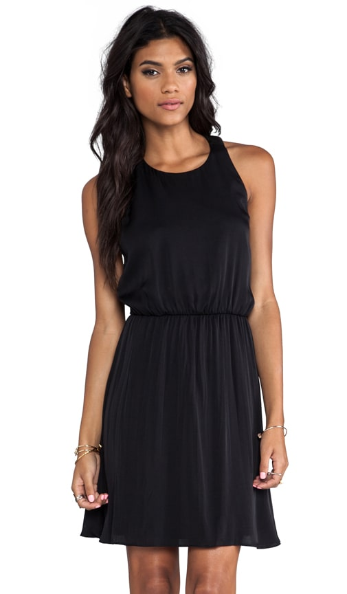 Kalista High Neck T-Back Dress