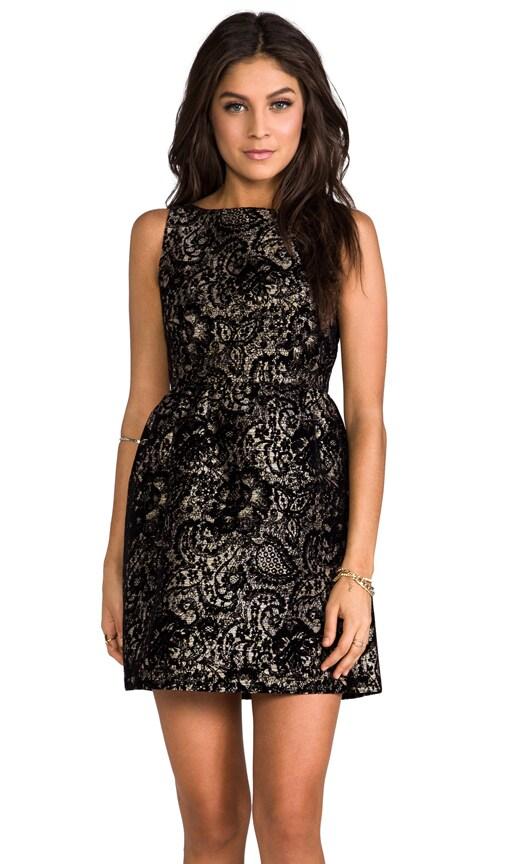 Lillyanne Puff Skirt Mini Dress