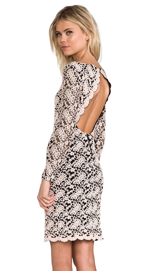 Khloe Open Keyhole Back Dress