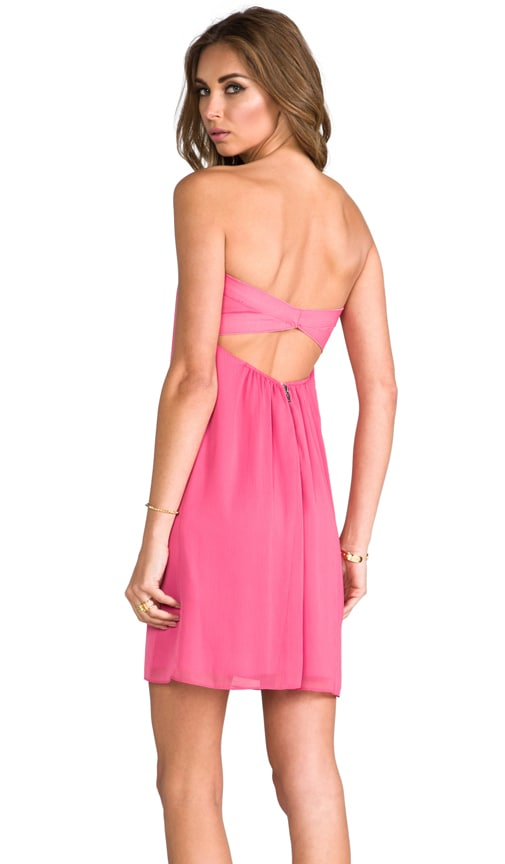 Jazz Center Drape Strapless Dress