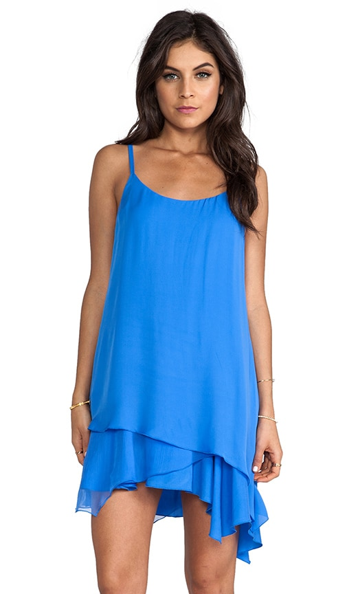 Anika Layered Asymmetrical Hem Tank Dress