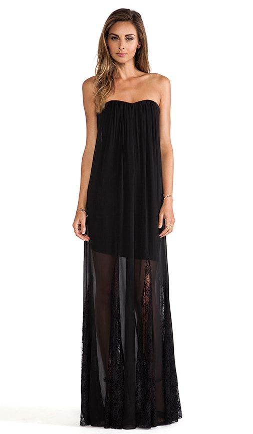 Francesca Strapless Maxi Dress