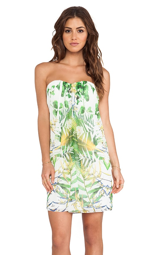 Jazz Center Strapless Dress
