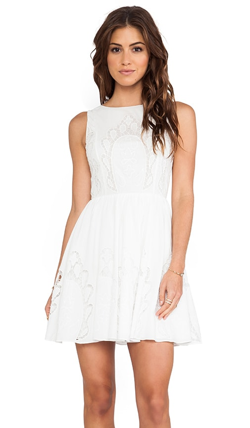 Vinny Embroidered Party Dress
