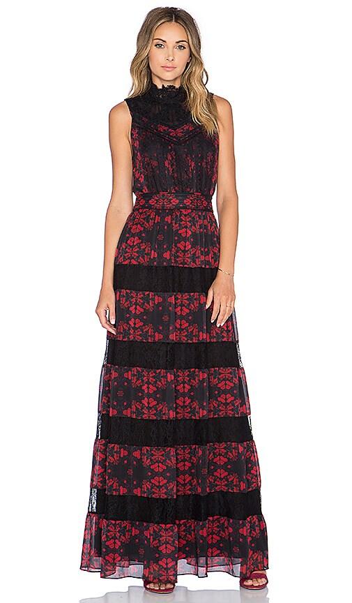 Briella Lace Maxi Dress Alice Olivia