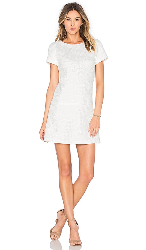 Alice + Olivia Liv Dress in White