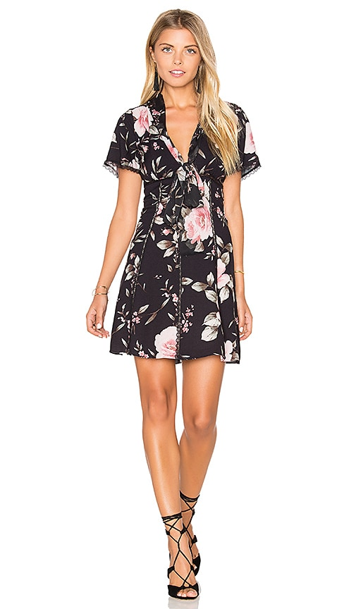 Alice + Olivia Alena Dress in Black