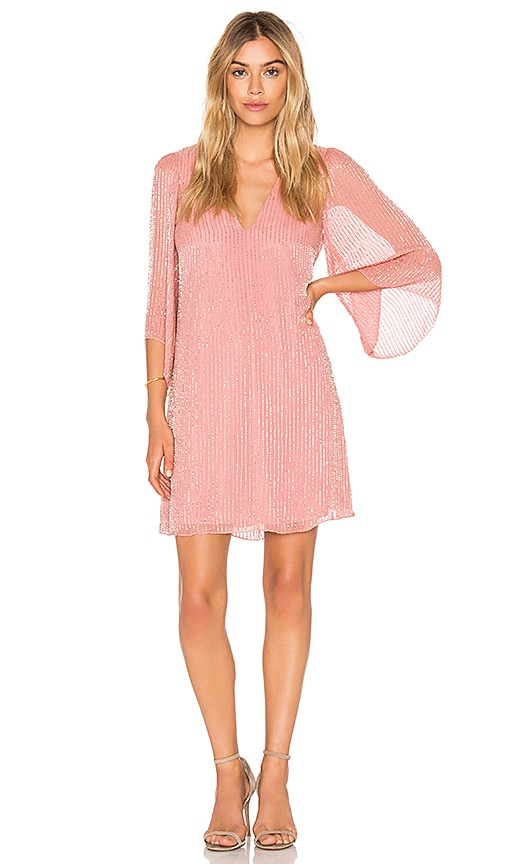 Alice + Olivia Tammin Dress in Rose