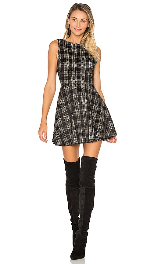 Alice + Olivia Monah Dress in Black