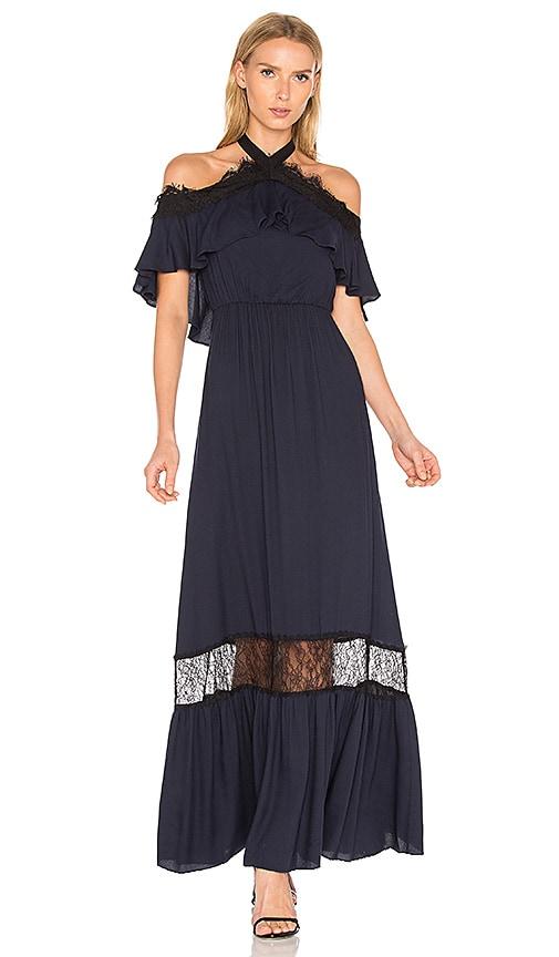 Alice + Olivia Mitsy Gown in Black