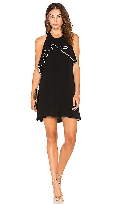 Alice + Olivia Gwenie Dress in Black