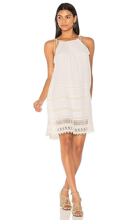 Alice + Olivia Danna Dress in White