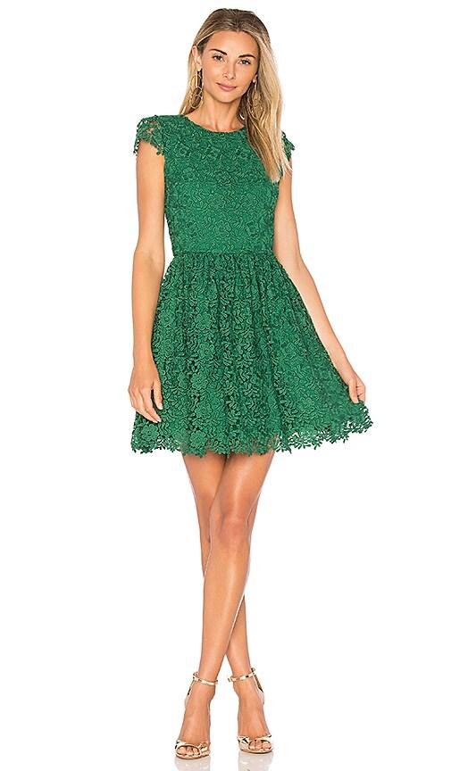 Alice + Olivia Corina Dress in Green