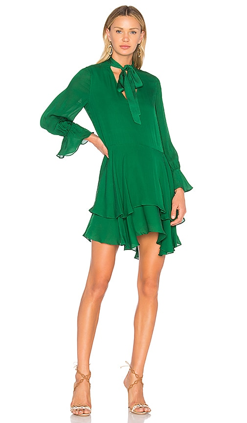 Alice + Olivia Moore Dress in Green