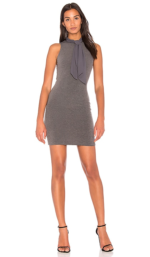 Alice + Olivia Mary Dress in Charcoal