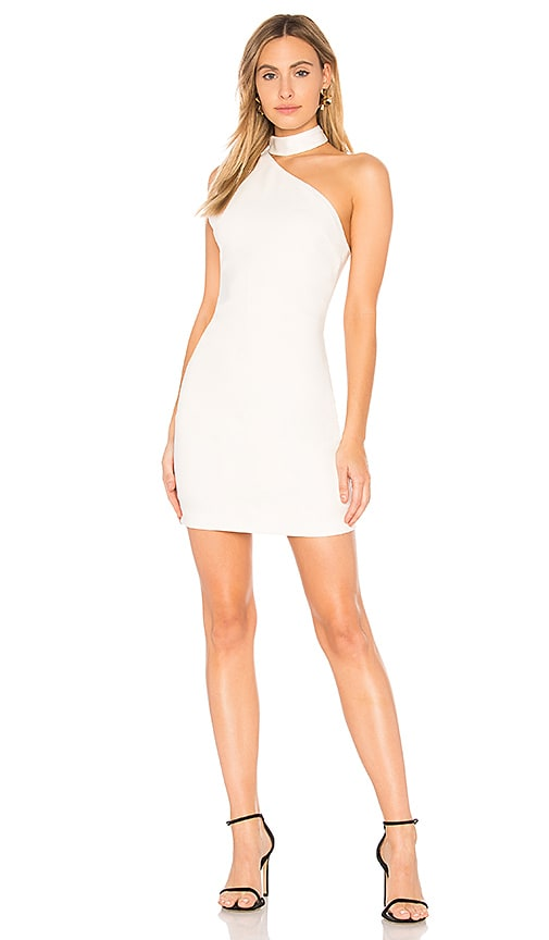 Alice + Olivia Soshana Dress in White