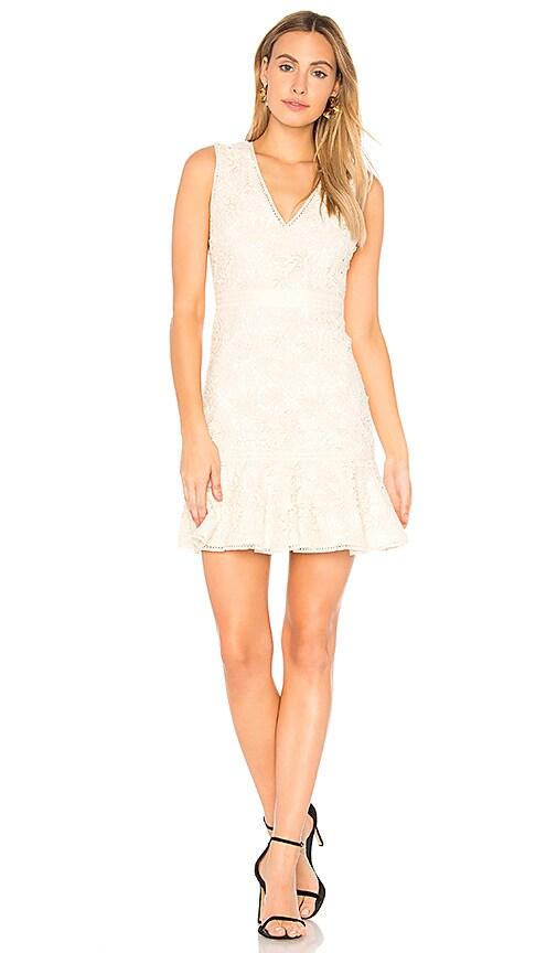 Alice + Olivia Onella Dress in Cream