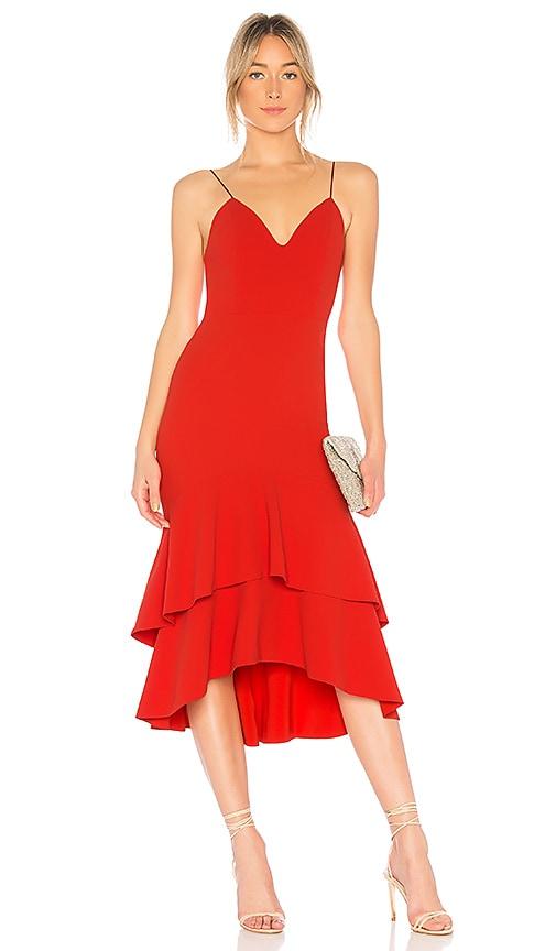 Amina Midi Dress by Alice + Olivia
