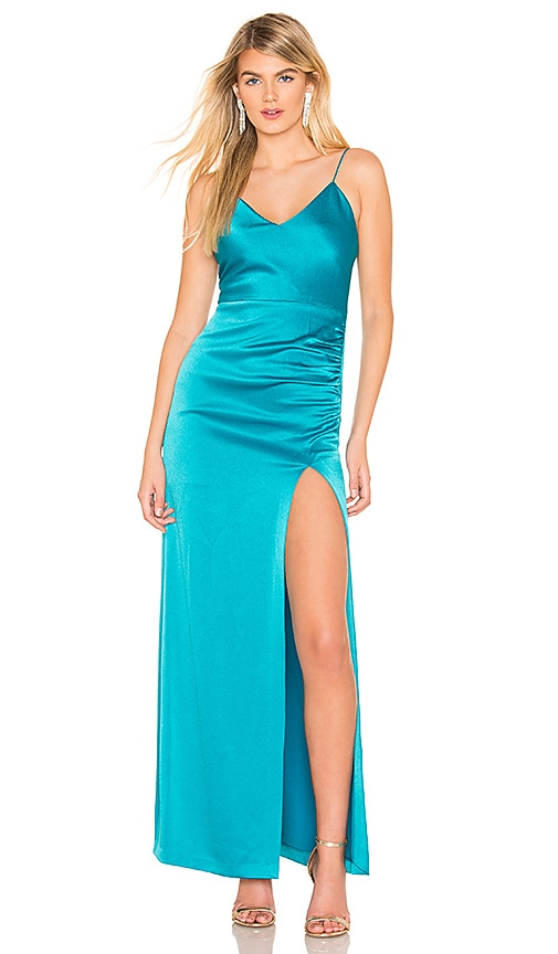 Fallon Ruched Gown