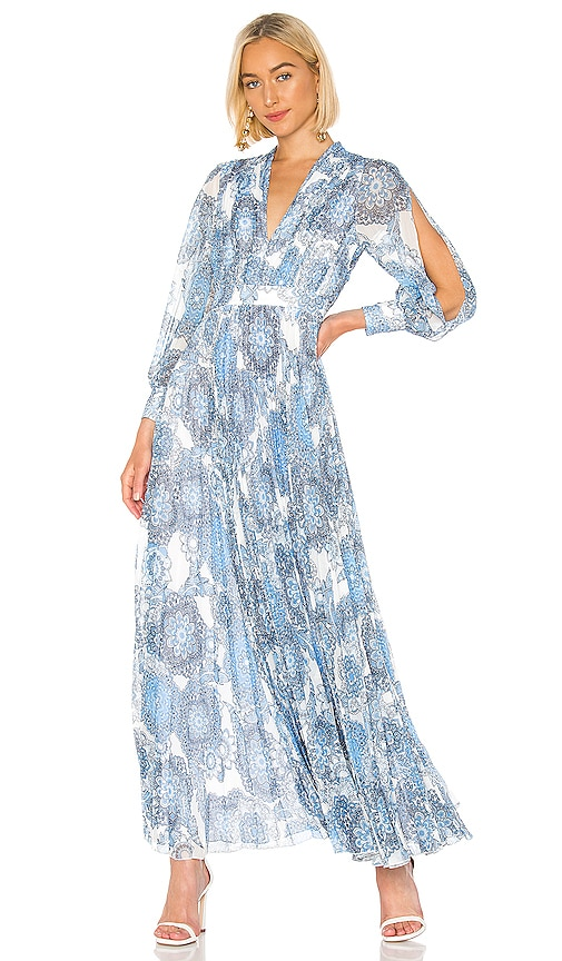 Cheney Pleated Gown
