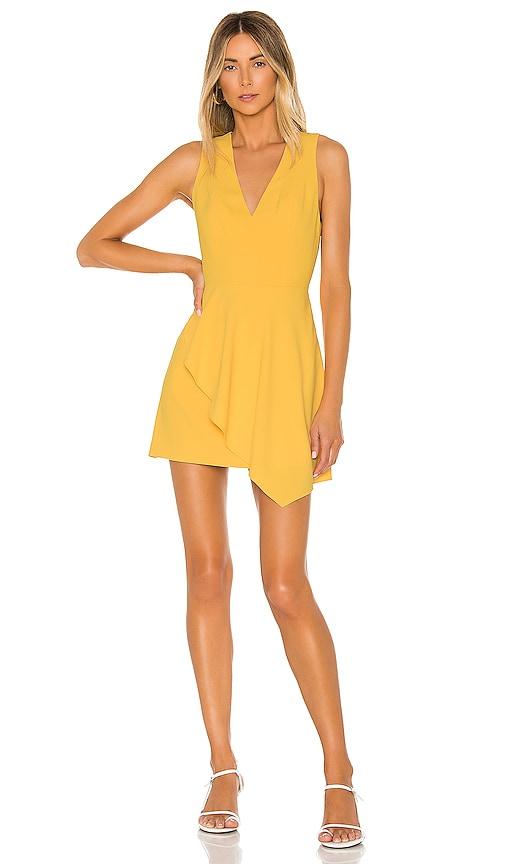 Callie Asymmetrical Drape Dress