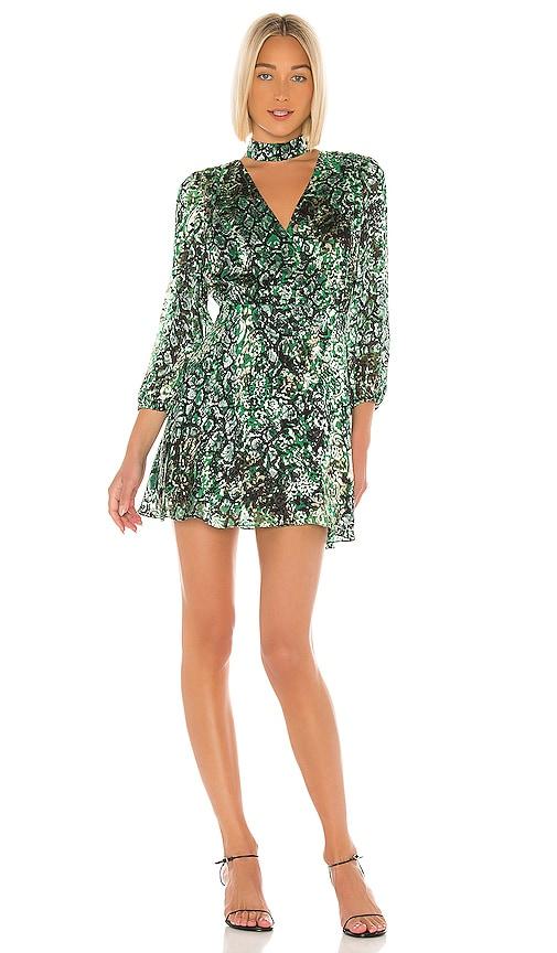 Rita Blouson Sleeve Mini Dress