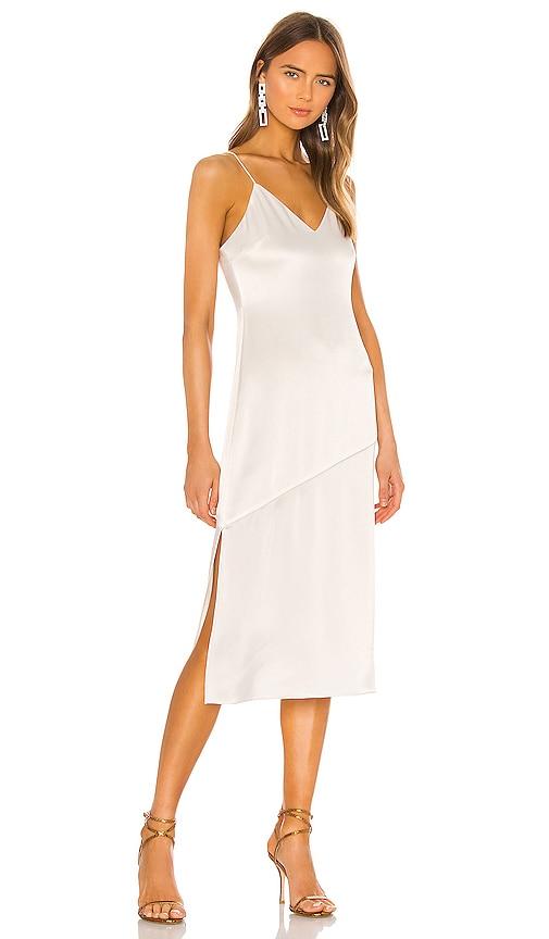 Vintage Inspired Slips Alice  Olivia Kayla Seamed Slip Dress in Ivory. - size 8 also in 0246 $330.00 AT vintagedancer.com