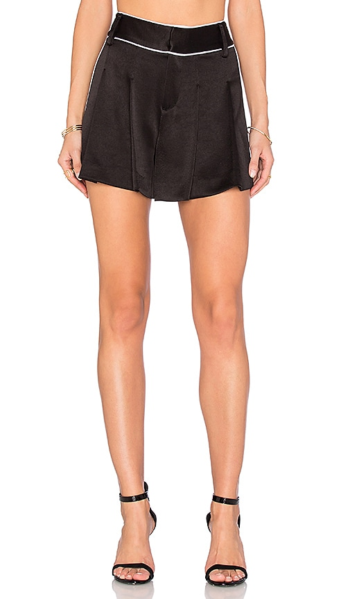 Alice + Olivia Selina Short in Black & White