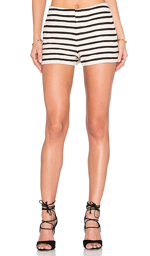 Alice + Olivia Ernie Short in Beige