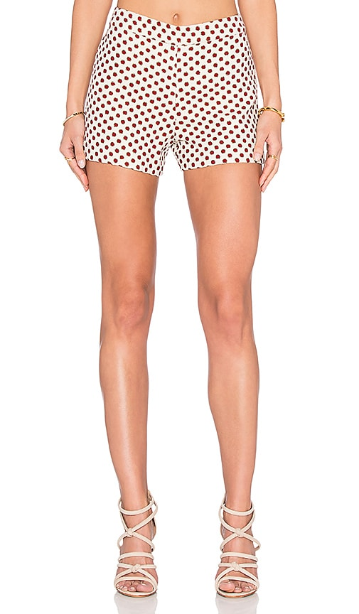 Alice + Olivia Marisa Short in Polka Dots