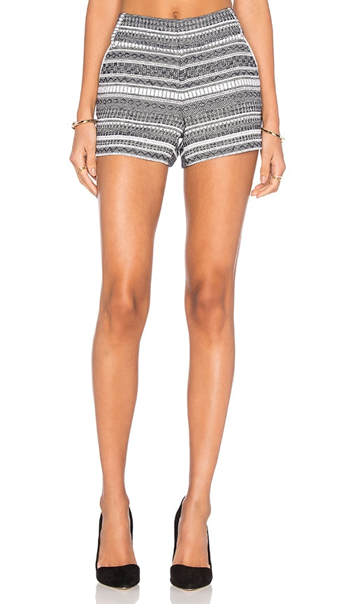 Alice + Olivia Cady Short in Navy