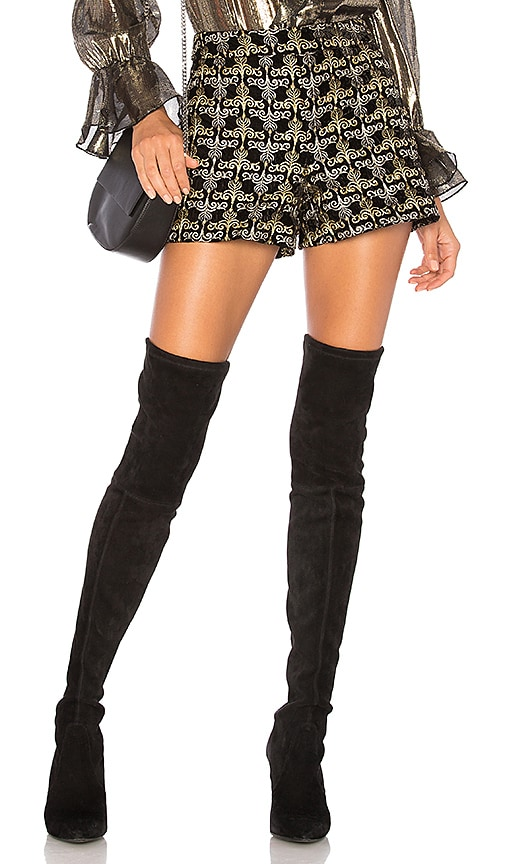 Alice + Olivia Marisa Short in Black