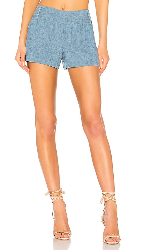 Alice + Olivia Cady Short in Blue